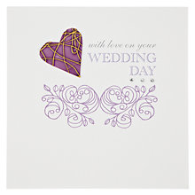 Buy Valerie Valerie Wedding Day Greeting Card Online at johnlewis.com