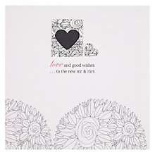 Buy Valerie Valerie Wedding New Mr & Mrs Greeting Card Online at johnlewis.com