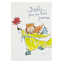 Buy Woodmansterne Little Girl Father's Day Card Online at johnlewis.com