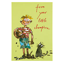 Buy Woodmansterne Little Soldier Father's Day Card Online at johnlewis.com