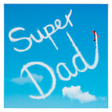 Buy Woodmansterne Super Dad Father's Day Card Online at johnlewis.com