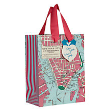 Buy Wild and Wolfe New York Gift Bag, Small Online at johnlewis.com