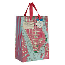Buy Wild and Wolfe New York Gift Bag, Medium Online at johnlewis.com