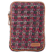 Buy Jigsaw Tweed Mini iPad Case, Pink Online at johnlewis.com