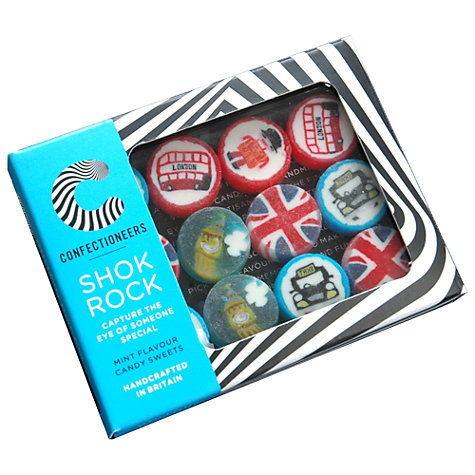 Buy Shok Rock Britain Rocks Mint Collection, 85g Online at johnlewis.com