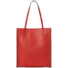 Buy Jaeger Jennifer Tote Bag, Bright Red Online at johnlewis.com