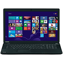 "Buy Toshiba Satellite C70-A-16P Laptop, Intel Pentium, 4GB RAM, 1TB, 17.3"", Black Online at johnlewis.com"