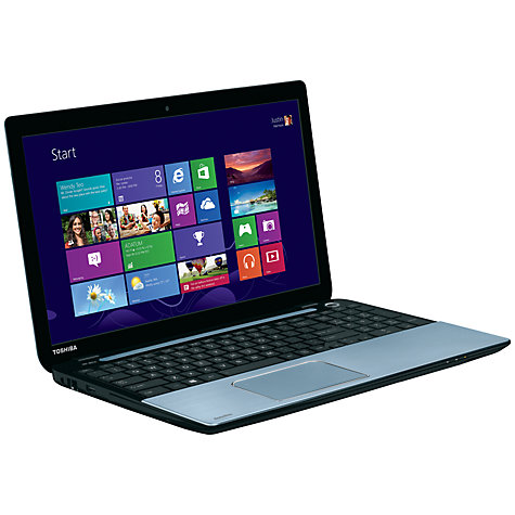 "Buy Toshiba Satellite S50D-A-10G Laptop, AMD A10, 8GB RAM, 1TB, 15.6"", Silver Online at johnlewis.com"