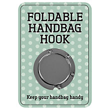Buy Fizz Handbag Hook Online at johnlewis.com