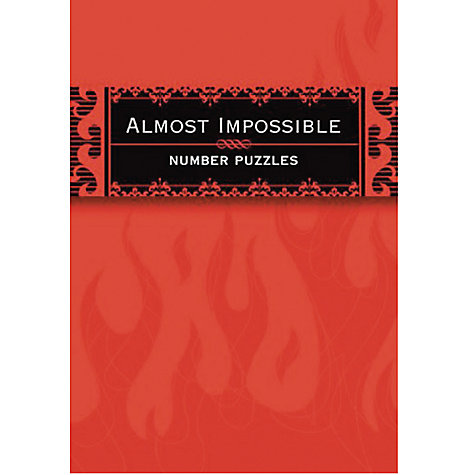 Buy House of Marbles Pocket Posh Almost Impossible Number Puzzle Book Online at johnlewis.com