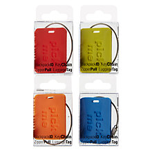 Buy Design Ideas Pick Me Luggage Label Online at johnlewis.com