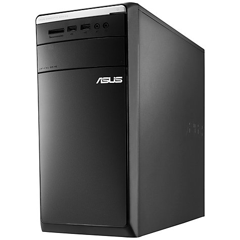 Buy Asus M32AD Desktop PC, Intel Core i5, 6GB RAM, 1TB, Black Online at johnlewis.com