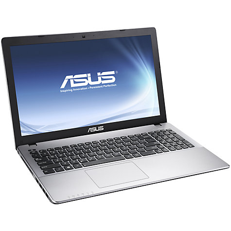 "Buy Asus VivoBook X550CA Laptop, Intel Core i7, 8GB RAM, 1TB, 15.6"" Touch Screen, Grey Online at johnlewis.com"