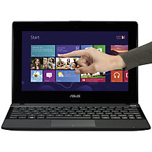 "Buy Asus X102 Laptop, AMD A4, 4GB RAM, 500GB, 10.1"" Touch Screen Online at johnlewis.com"