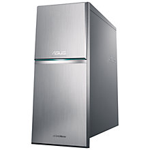 Buy Asus M70AD Desktop PC, Intel Core i5, 8GB RAM, 2TB, Black & Grey + Microsoft Office 365 Online at johnlewis.com