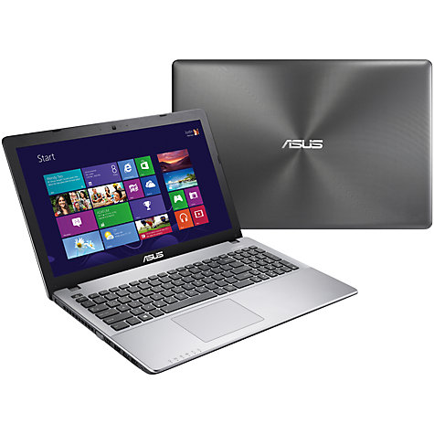 "Buy Asus X550CC Laptop, Intel Core i7, 8GB RAM, 1TB, 15.6"", Grey Online at johnlewis.com"