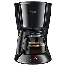 Buy Philips HD7447/20 Daily Collection Filter Coffee Machine, Black Online at johnlewis.com