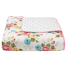 Buy Cath Kidston Painterly Rose Bedspread Online at johnlewis.com
