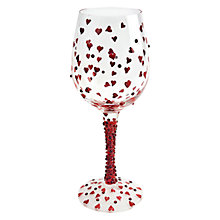 Buy Lolita Red Hot Wine Glass Online at johnlewis.com
