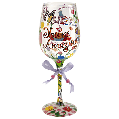 Lolita Mum Youre Amazing Wine Glass 5060298230225