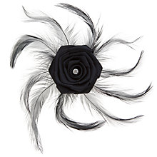 Buy John Lewis Feather Corsage Clip Online at johnlewis.com
