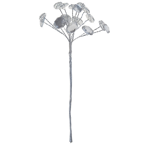 Buy John Lewis Mirror Crystal Corsage, Silver Online at johnlewis.com