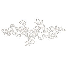 Buy John Lewis Guipure Applique, 19cm, Ivory Online at johnlewis.com
