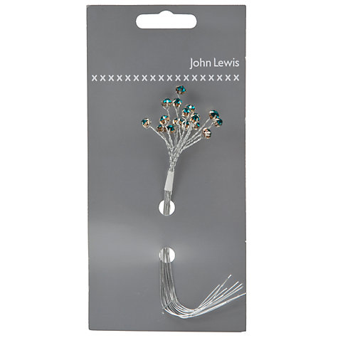 Buy John Lewis Diamonte Branch Wedding Accessory Online at johnlewis.com