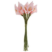 Buy John Lewis Polyfoam Lily Wedding Accessory, Pink Online at johnlewis.com