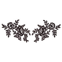 Buy John Lewis Naomi Appliques, 15cm, Pack of 2 Online at johnlewis.com