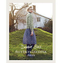 Buy Debbie Bliss Blue Faced Leicester Aran Knitting Pattern Booklet Online at johnlewis.com