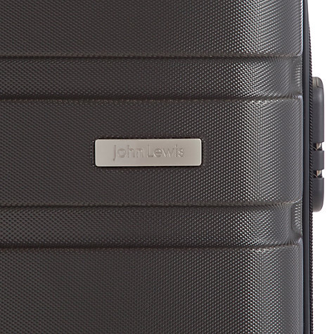 Buy John Lewis Basics 4-Wheel Cabin Suitcase, Anthracite Online at johnlewis.com