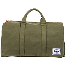 Buy Herschel Novel Cotton Canvas Holdall Online at johnlewis.com