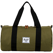 Buy Herschel Sutton Medium Cotton Canvas Holdall Online at johnlewis.com