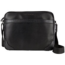 Buy Ted Baker Wagala Shoulder Bag, Black Online at johnlewis.com