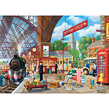 Buy Gibson & Son Awaiting Departures 1000 Piece Puzzle Online at johnlewis.com