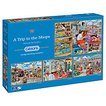 Buy Gibson & Son Trip To The Shops 500 Piece Puzzle, Set of 4 Online at johnlewis.com