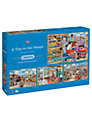 Gibsons Trip To The Shops 500 Piece Puzzle, Set of 4
