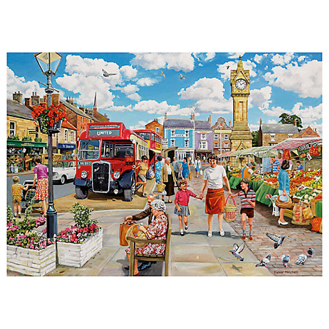 Buy Gibsons Trip To The Shops 500 Piece Puzzle, Set of 4 Online at johnlewis.com