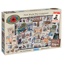 Buy Gibsons WW1 Centenary 1000 Piece Jigsaw Puzzle Online at johnlewis.com
