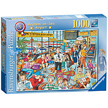 Buy Ravensburger Meyhem On Sea Airport 1000 Piece Jigsaw Puzzle Online at johnlewis.com