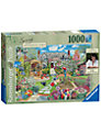 Ravensburger Gardening World Spring 1000 Piece Puzzle