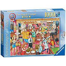 Buy Ravensburger The Frog & Trumpet 1000 Piece Puzzle Online at johnlewis.com