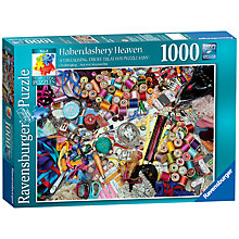 Buy Ravensburger Haberdashery Heaven 1000 Piece Puzzle Online at johnlewis.com