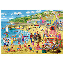 Buy Gibson & Son Sun and Sandcastles 1000 Piece Jigsaw Puzzle Online at johnlewis.com
