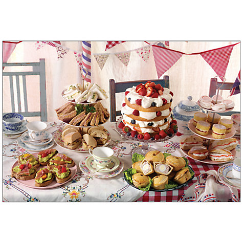 Buy Cranham A Great British Tea Party 500 Piece Jigsaw Puzzle Online at johnlewis.com