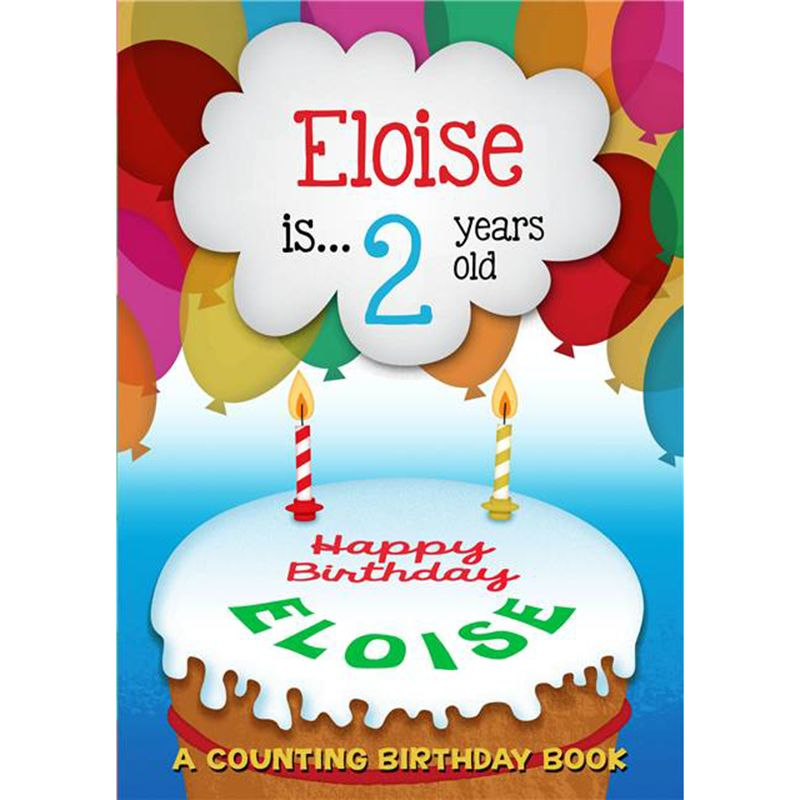 The Letteroom The Letteroom Personalised Counting Birthday Book