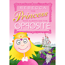 Buy The Letteroom Personalised Opposite Princess Story Book Online at johnlewis.com