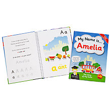 Buy The Letteroom Personalised Story Name Book Online at johnlewis.com