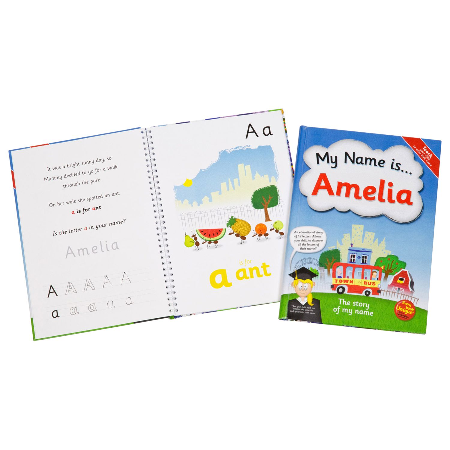The Letteroom The Letteroom Personalised Story Name Book